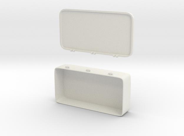 Stashbox in White Natural Versatile Plastic