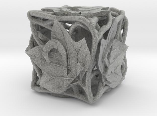 Botanical Die6 Ornament 3d printed