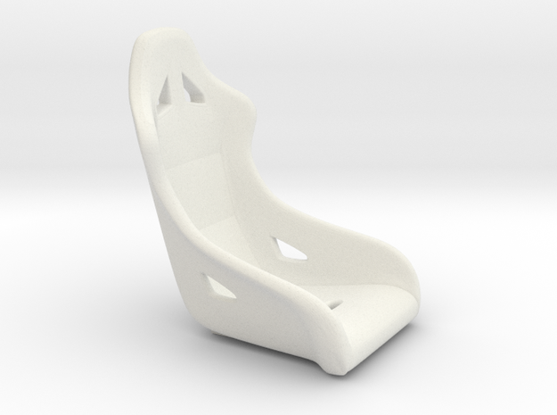1/16 Scale Modern Racing Seat Single 3d printed