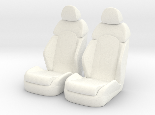 1 12 Luxury Bucket Seat Pair