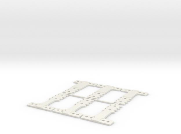 HM-RM 60 THK in White Natural Versatile Plastic