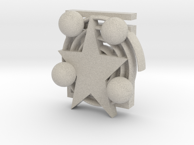 Xmas Decoration 3d printed