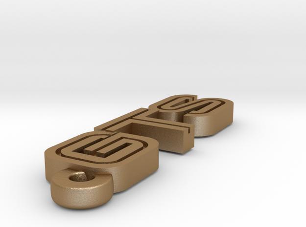 KEYCHAIN LOGO GTS 3d printed