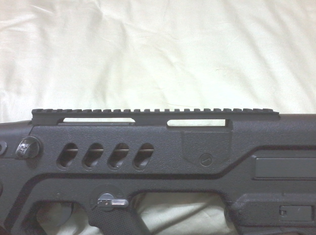 Extended Top Rail for AIRSOFT TOY Ares TAR-21 in Black Strong & Flexible