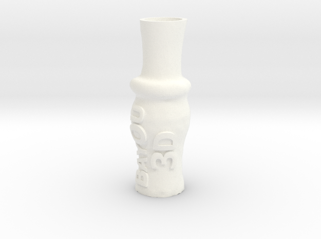 Bayou3d DUCK CALL in White Processed Versatile Plastic