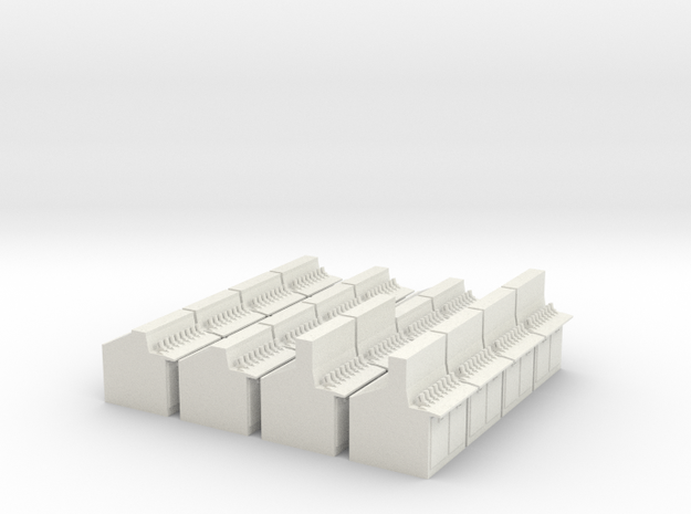 Westinghouse Lever Frames in White Natural Versatile Plastic