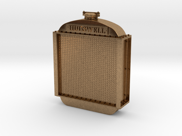 Hudswell Clarke D29 Radiator 1:34 in Raw Brass