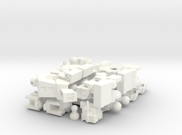 Minibot - Uber Magnum 3d printed
