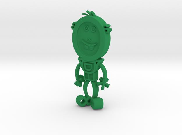 TYPE GUYS in Green Processed Versatile Plastic