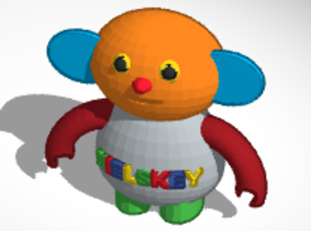 nielskey file color 3d printed