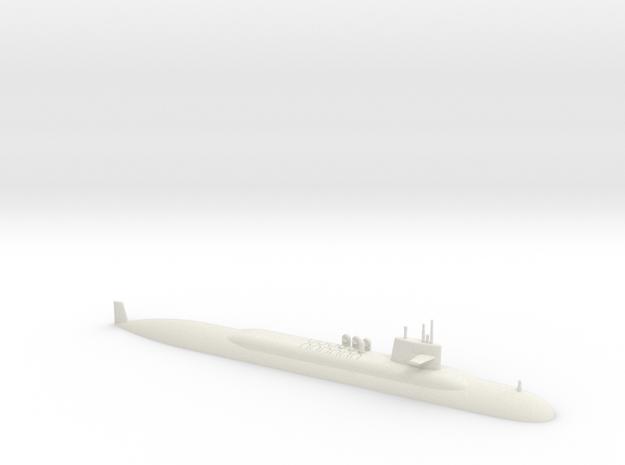 1/700 Lafayette Class Submarine (Waterline) in White Natural Versatile Plastic