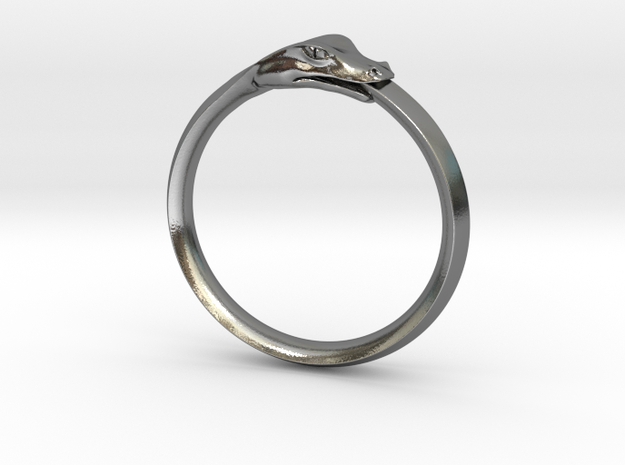 Ouroboros Ring 3d printed