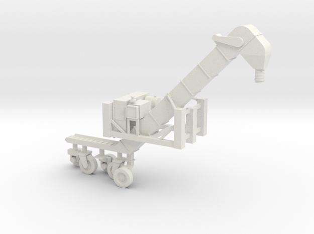 1/50 Conveyor Loader-Unloader (Transloader) in White Natural Versatile Plastic