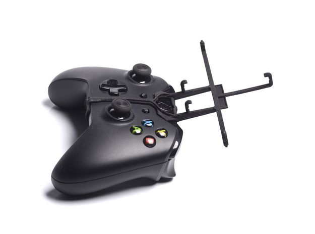 Xbox One controller & Spice Mi-491 Stellar Virtuos 3d printed Without phone - Black Xbox One controller with Black UtorCase