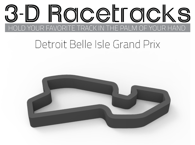 Detroit Belle Isle Grand Prix | IndyCar in Full Color Sandstone