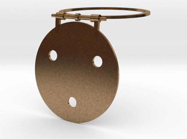 Galex Telescope Cover 1/20th in Raw Brass