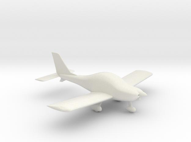HOA1 - Texan Top Class Light Aircraft  1/87  in White Strong & Flexible