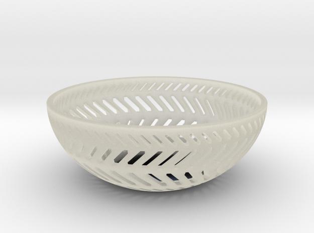 Backslash Bowl in Transparent Acrylic