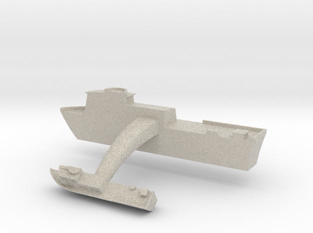 Swift Boat Cufflinks (Pair) in Sandstone
