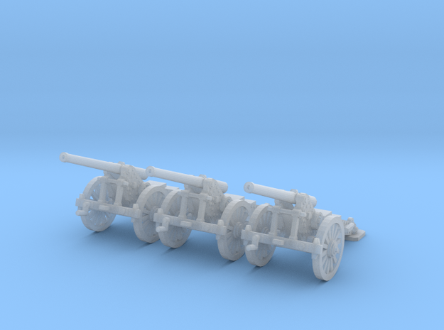 1/200 de Bange cannon 155mm (3) in Smooth Fine Detail Plastic