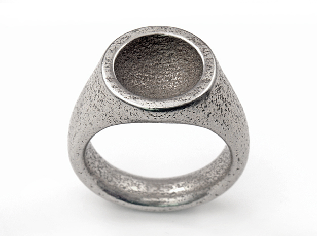Grail Ring in Stainless Steel