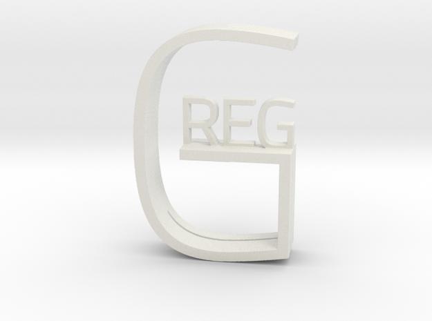 Greg in White Strong & Flexible