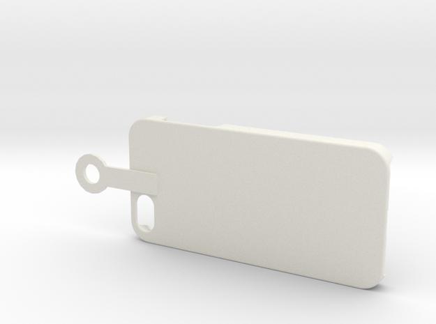Iphone hook in White Natural Versatile Plastic