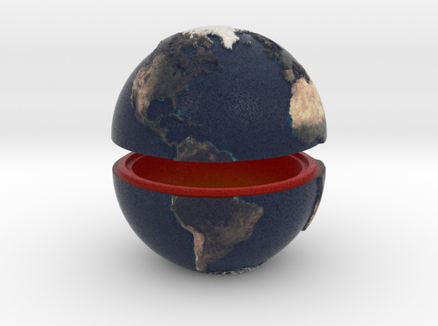 Tactile Miniature Earth (No Stand)