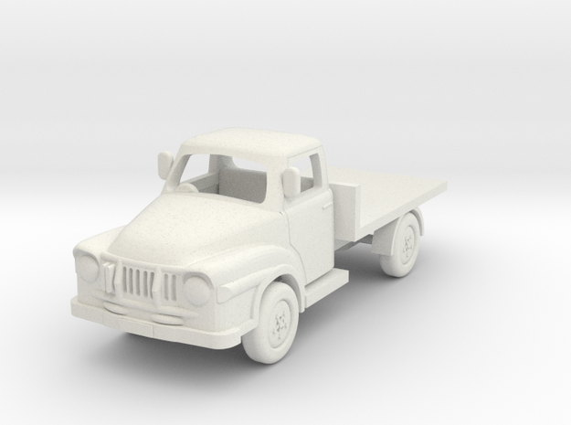 1:76 J1 Bedford in White Natural Versatile Plastic