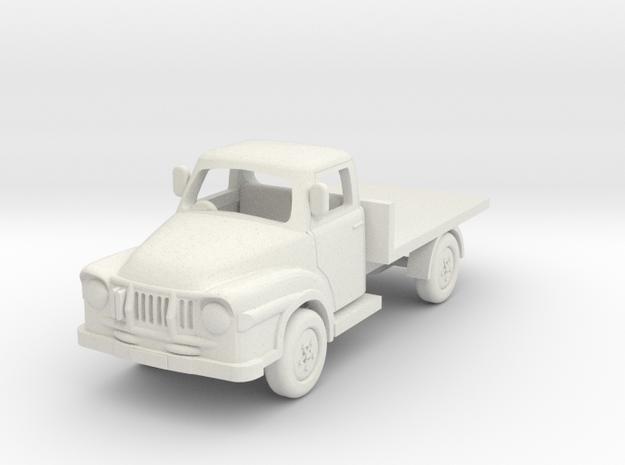1:76 J1 Bedford in White Natural Versatile Plastic