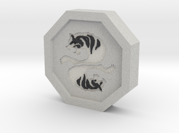 Tiger Talisman in Full Color Sandstone