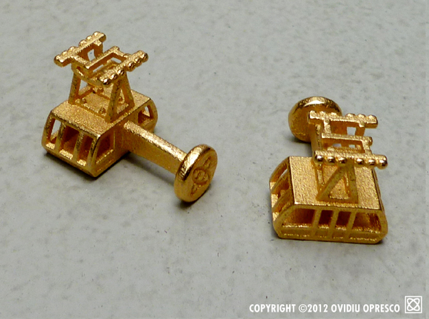 The New (2010) Roosevelt Island Tram Cuff-Links