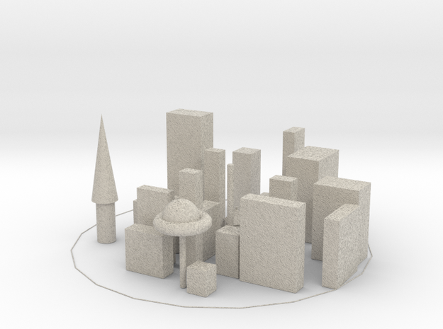 Baldurs city in Natural Sandstone