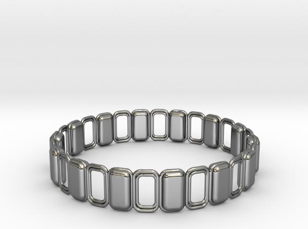 O Ring 3 in Premium Silver
