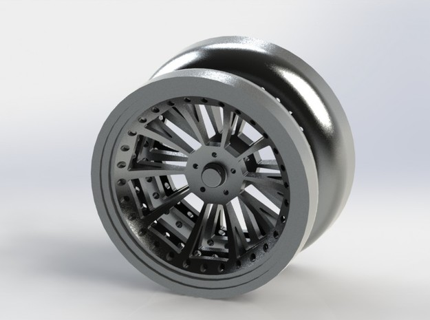 Offroad YoYo 3d printed