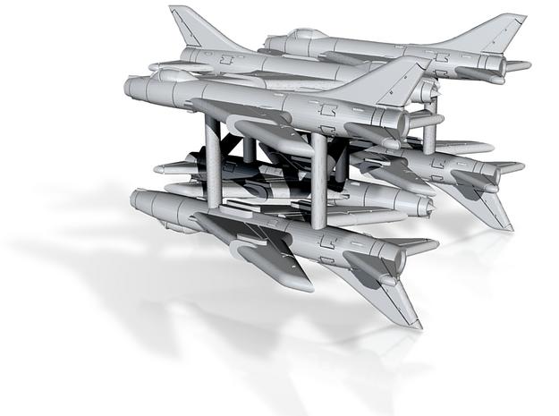 1/700 Su-7BM Fitter (x6) 3d printed