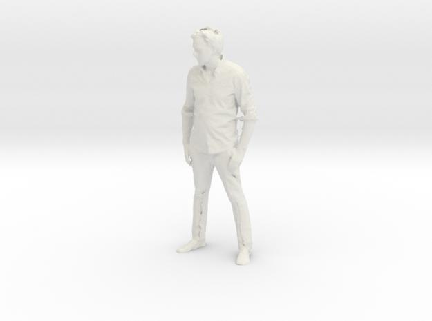 DUANN IS HUMAN in White Natural Versatile Plastic