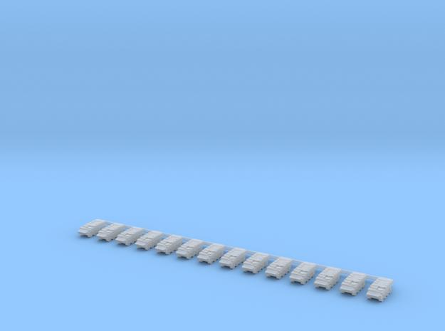 1/700 Pandur II (No Turret) Company in Smooth Fine Detail Plastic