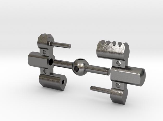 Glenross Dental Expander Disassembled in Polished Nickel Steel