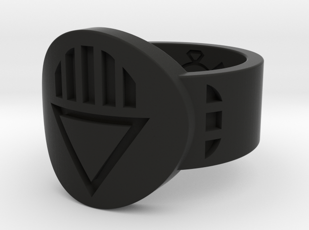 Death FF Ring (Sz's 5-15) 3d printed