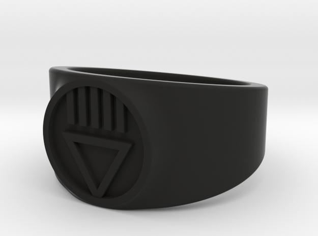 Black Death GL Ver 2 Ring Sz 15 3d printed