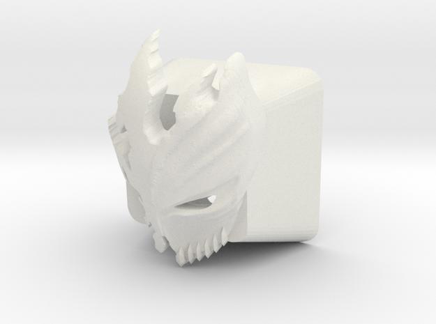 Cherry MX Kurosaki Mask Keycap in White Natural Versatile Plastic