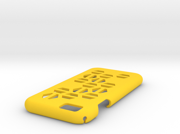 IPhone 6 Case HEX in Yellow Processed Versatile Plastic