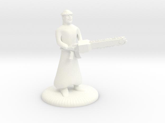 Munchkin Mad Monk Mini in White Processed Versatile Plastic