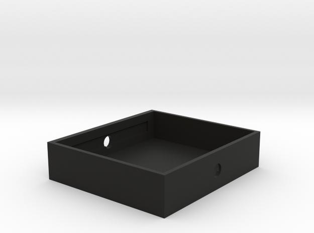 Triple (3) 26650 Battery Holder / Sled in Black Strong & Flexible