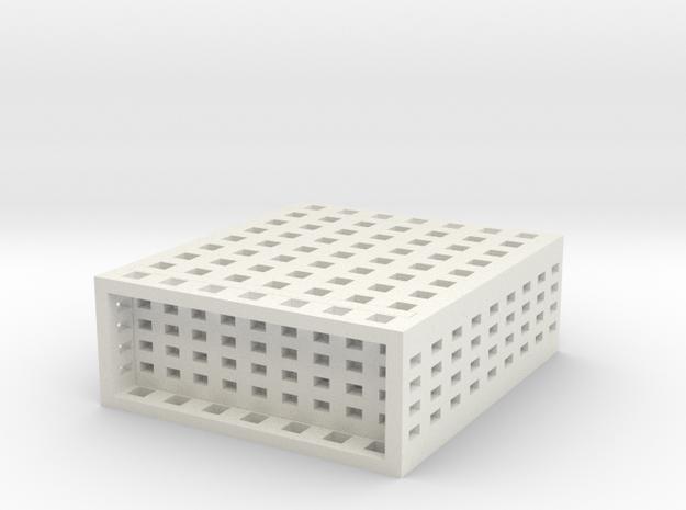2550 Roof Resistor in White Natural Versatile Plastic