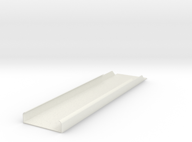 2550 Roof Panel in White Natural Versatile Plastic