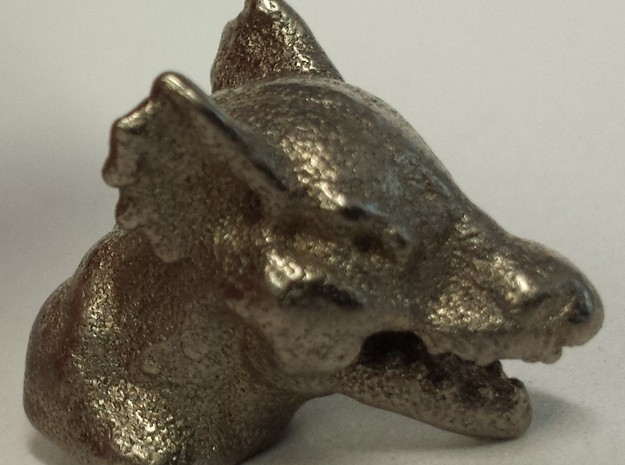 DRAGON MONOPOLY PIECE in Polished Nickel Steel