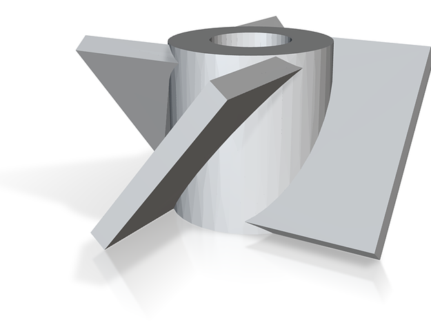Micro Fan 3d printed