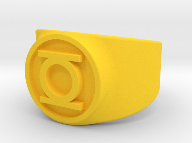 Original Hal GL Ring Sz 10 3d printed